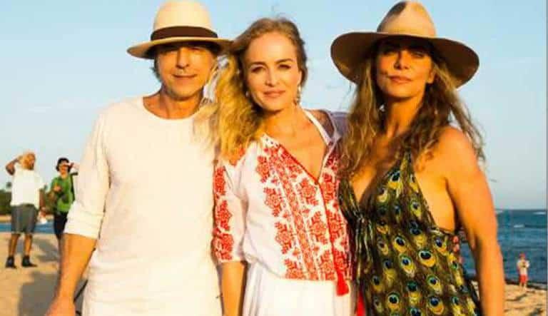 Bruna Lombardi se solidariza com Angélica e a família da amiga