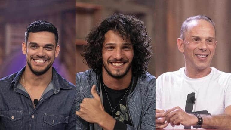 Caique Aguiar, João Zoli e Rafael Ilha