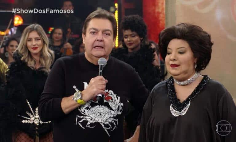 Fausto Silva e Ludmilla