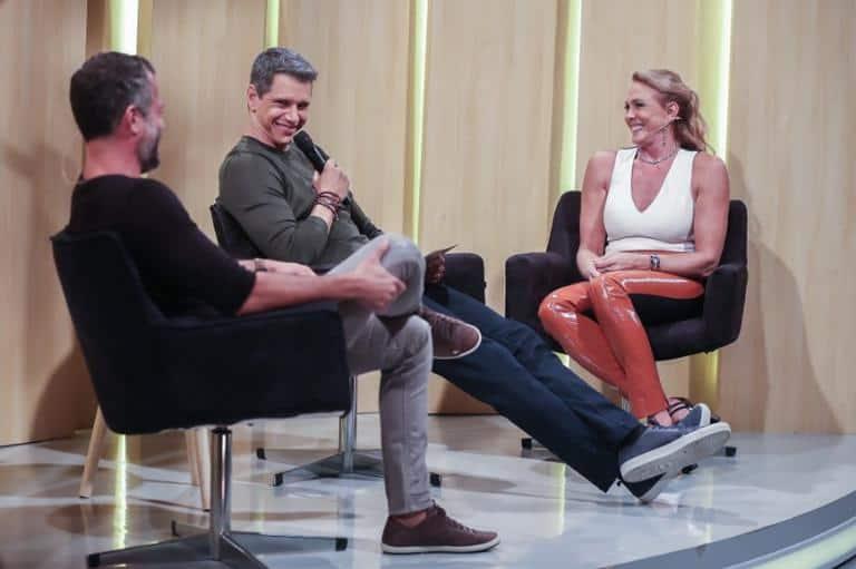 Márcio Garcia recebe Malvino Salvador e Hortência em Tamanho Família
