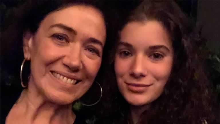 Lilia Cabral e a filha, Giulia Figueiredo