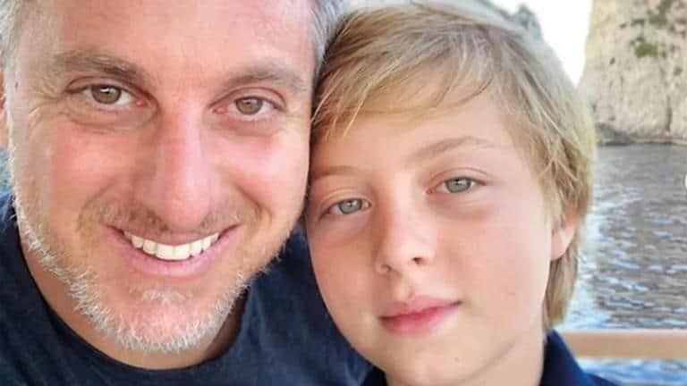 Luciano Huck e o filho Benício