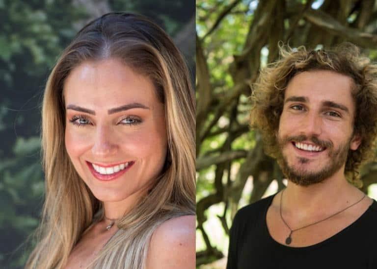 Paula e Alan: campeã e vice-campeão do BBB19