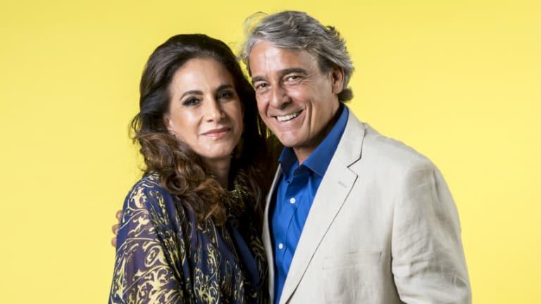 Quinzão (Alexandre Borges) e Mercedes (Totia Meireles)