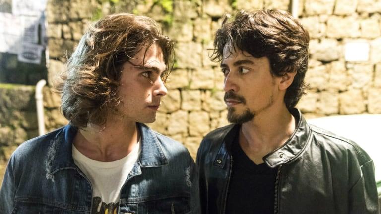 João (Rafael Vitti) e Jerônimo (Jesuíta Barbosa)