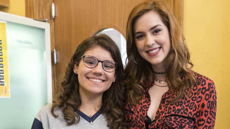 Sophia Abrahão e Raíssa (Dora de Assis)