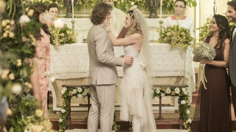 Manu (Isabelle Drummond) e João (Rafael Vitti)