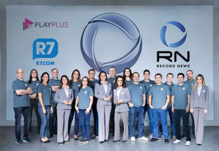 Equipe da Record TV envolvida na cobertura nos Jogos Pan-Americanos