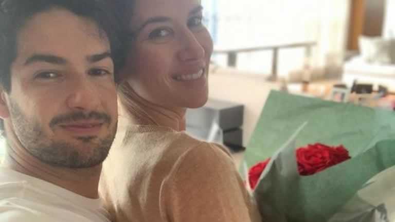 Rebeca Abravanel e Alexandre Pato se casaram no sábado, 29