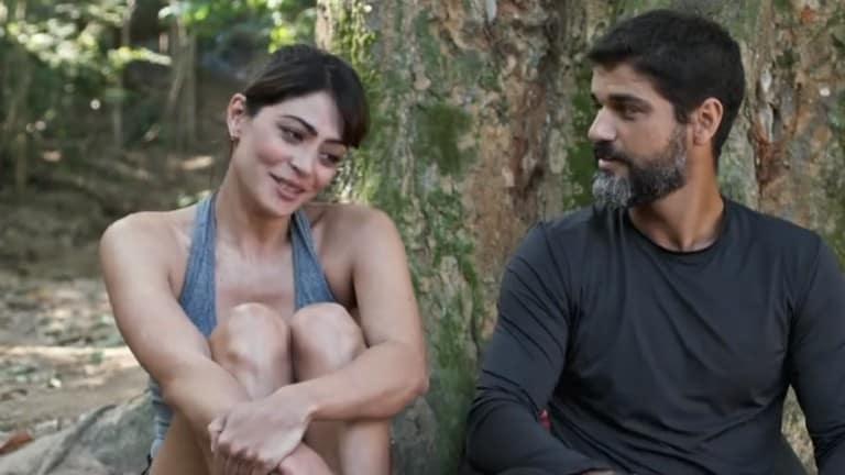Carol Castro e Bruno Cabrerizo contracenam juntos em Órfãos da Terra