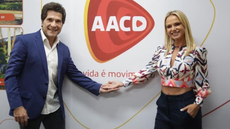 Eliana e Daniel celebram aniversário da AACD