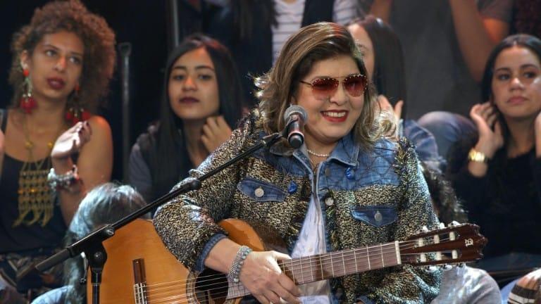 Roberta Miranda faz campanha em prol do GACC