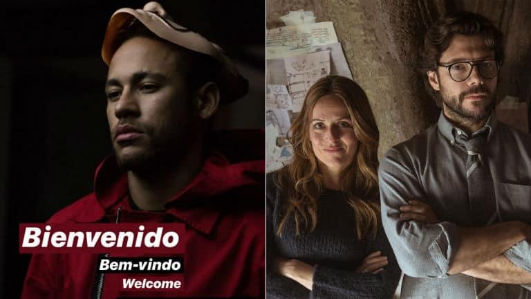 Netflix relança episódios de La Casa de Papel com participação de Neymar