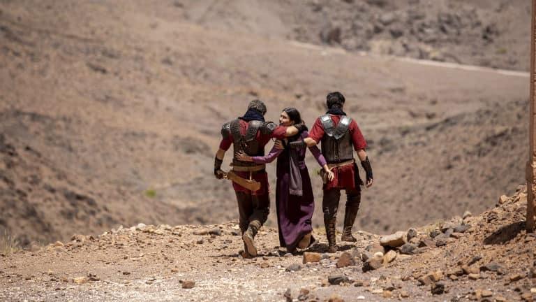 Barzilai, Queila e Baruch fogem de Samaria