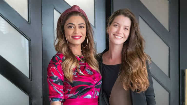 Fabiana (Nathalia Dill) e Maria da Paz (Juliana Paes)