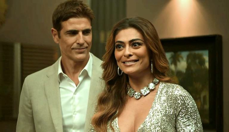 Reynaldo Giannechini e Juliana Paes