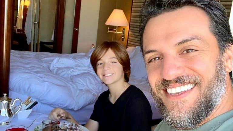 rodrigo lombardi e o filho rafael