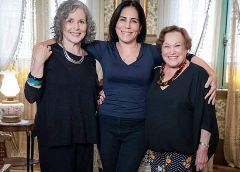 Irene Ravache, Gloria Pires e Nicette Bruno