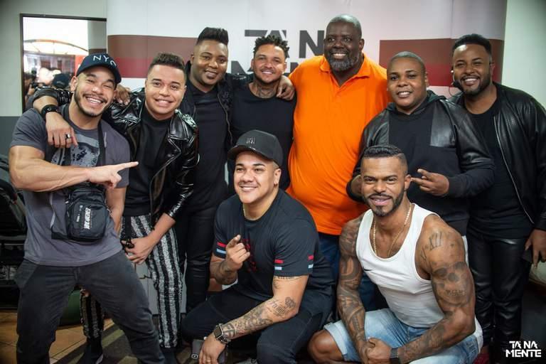 Gravação DVD do grupo Tá na Mente
