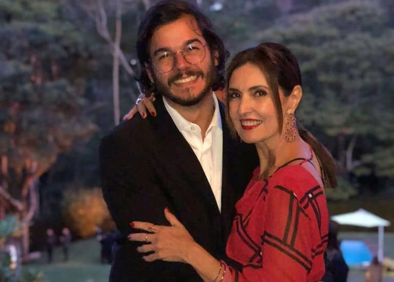Fátima Bernardes e Túlio Gadelha