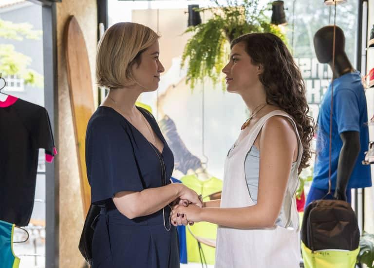 Lígia começa a aceitar Rita como futura nora