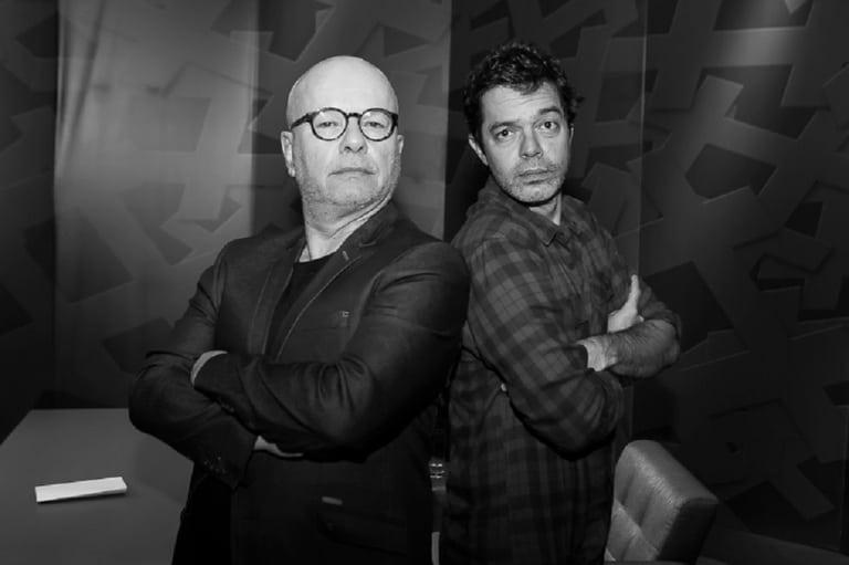 Marcelo Tas e Bruno Mazeo - TV Cultura