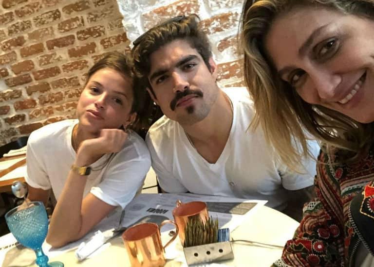 Amora Mautner, Caio Castro e Agatha Moreira