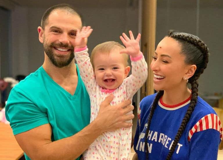 Duda Nagle, Sabrina Sato e a filha do casal, Zoe
