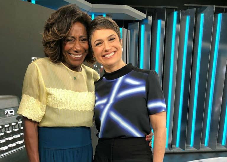 Sandra Annenberg e Gloria Maria apresentam o 'Globo Repórter'