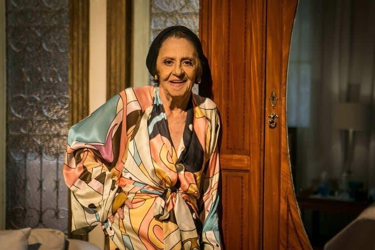 Laura Cardoso - Foto Globo - Raquel Cunha