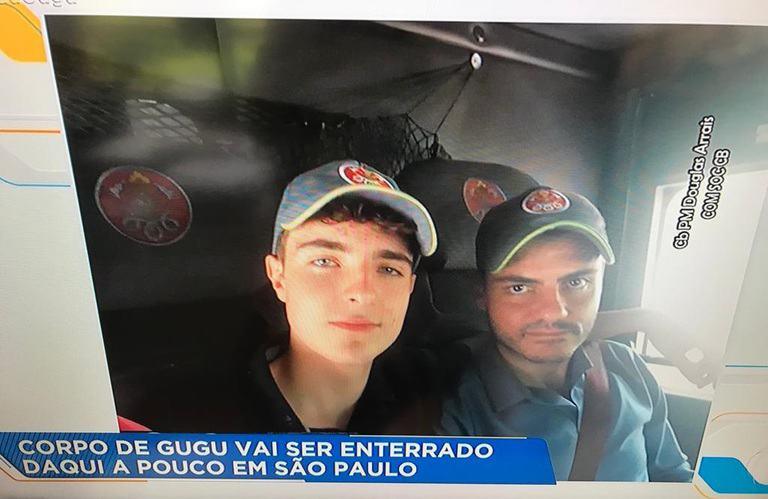 O último adeus a Gugu Liberato | Foto: Reprodução/ Record TV