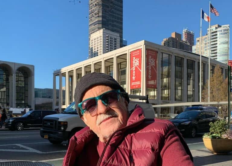 Ary Fontoura: férias em NY