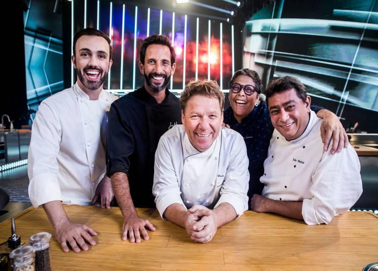 José Avillez, Kátia Barbosa, Leo Paixão, Claude Troisgros e Batista