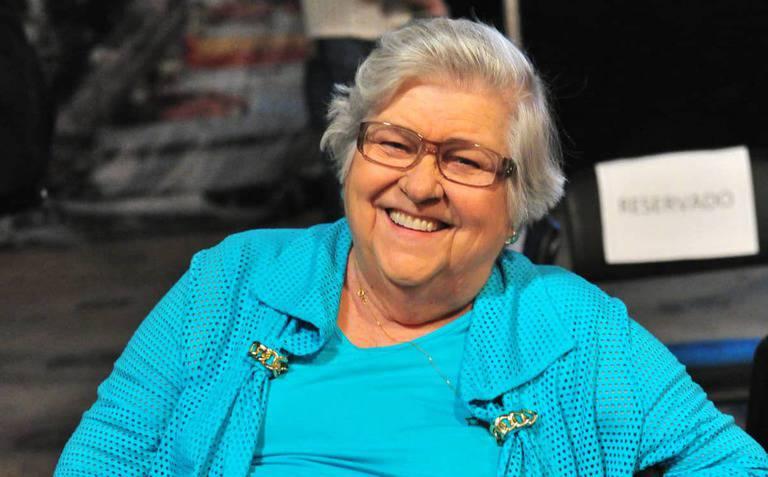 atriz Hilda Rebello, mãe do diretor Jorge Fernando