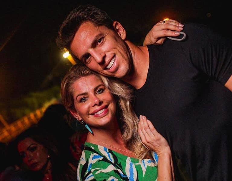 Karina Bacchi e Amaury Nunes
