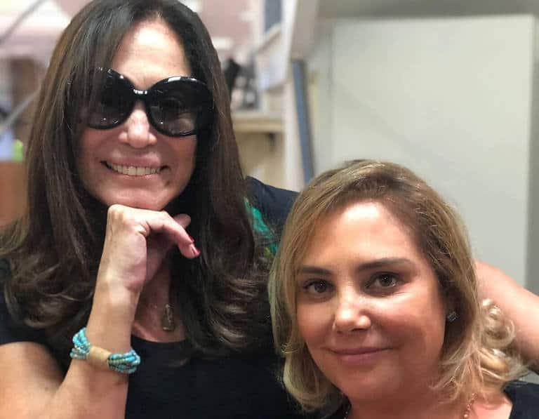 Susana Vieira e Heloisa Perissé