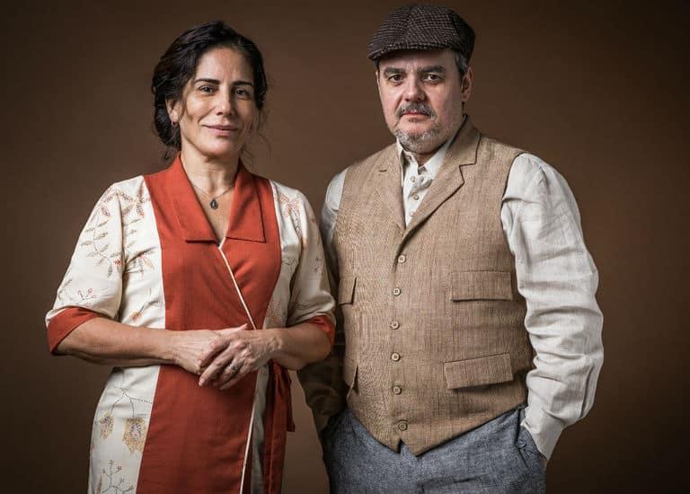 Lola (Gloria Pires) e Afonso (Cássio Gabus Mendes)