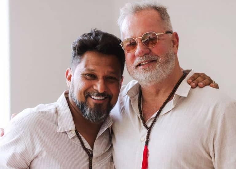Luiz Fernando Guimarães e Adriano Medeiros
