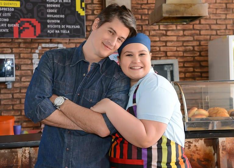 Waldisney (Pedro Lemos) e Nanci (Rafaela Ferreira)