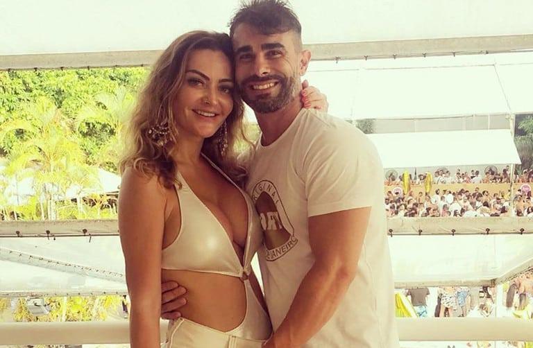 Laura Keller e Jorge Souza