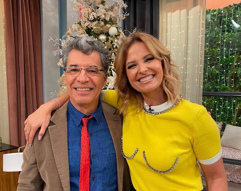 Paulo Betti e Cristina