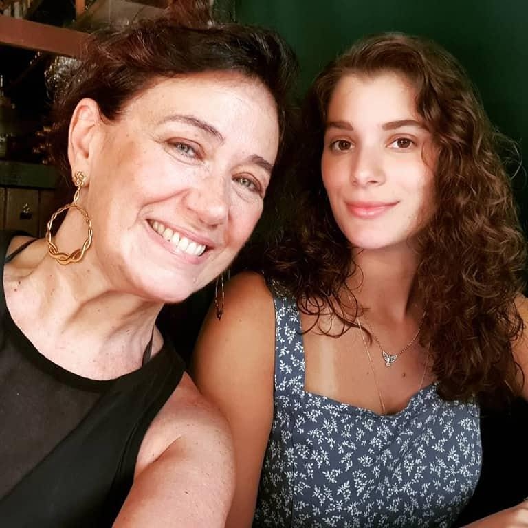 Lilia Cabral e a filha Giulia Bertolli
