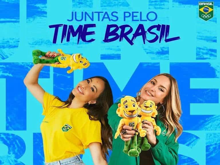 Claudia Leitte e Sabrina Sato Time Brasil