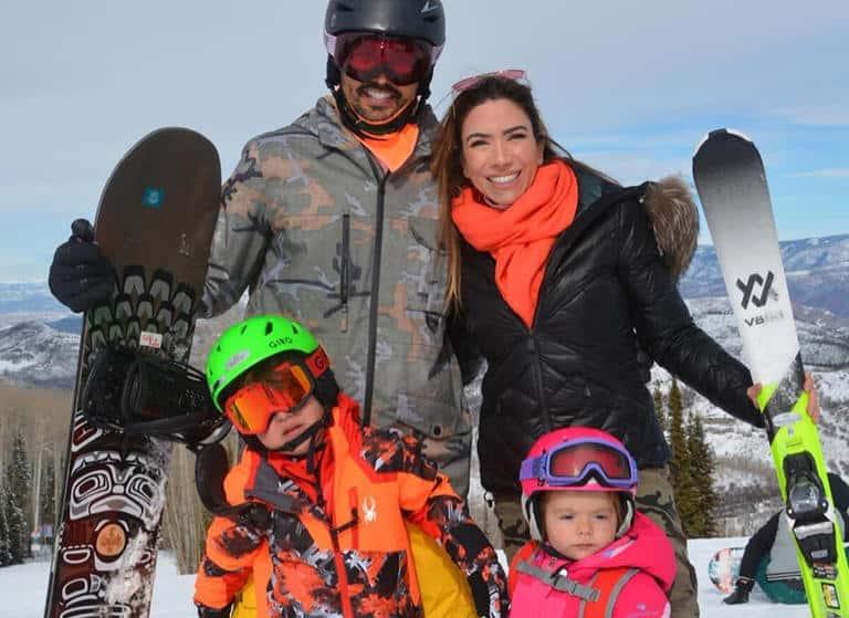 Patricia Abravanel e a família
