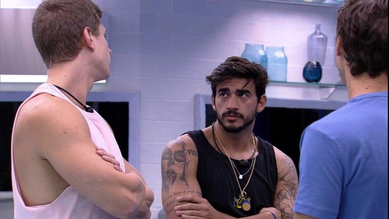 Felipe, Guilherme e Lucas