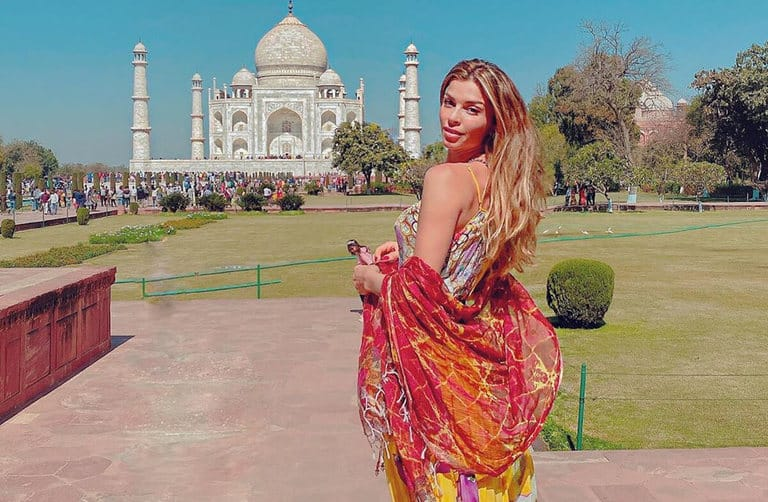 Grazi no Taj Mahal