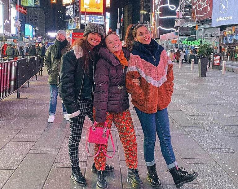 Larissa Manoela, Thati Lopes e Maiara Wash