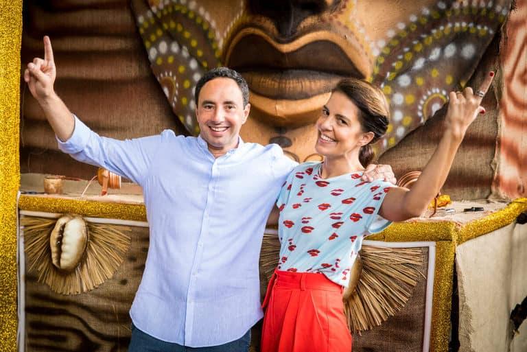 Mariana Gross e Pedro Bassan