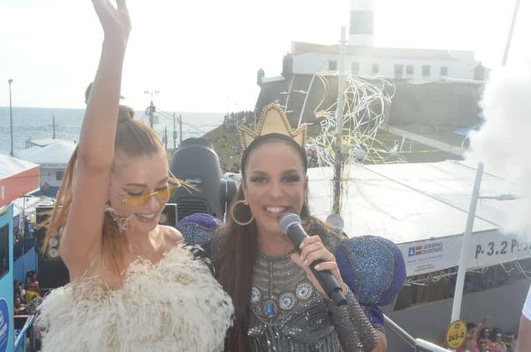 Marina Ruy Barbosa e Ivete Sangalo
