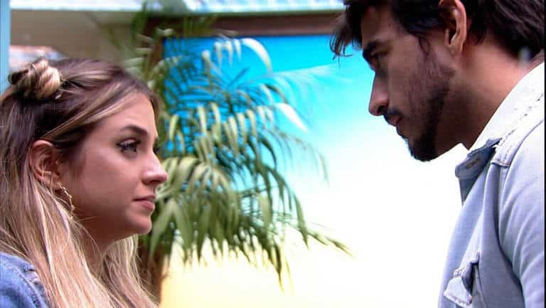 Guilherme consola Gabi